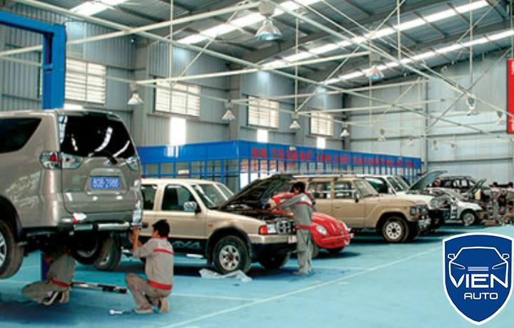Garage sửa chữa ô tô Lexus uy tín